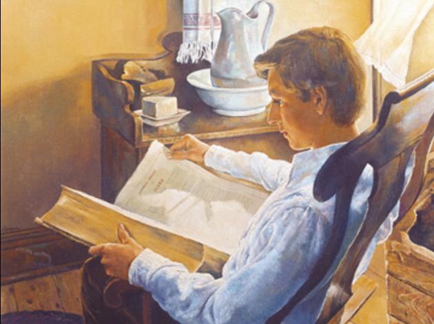 Joseph reading James