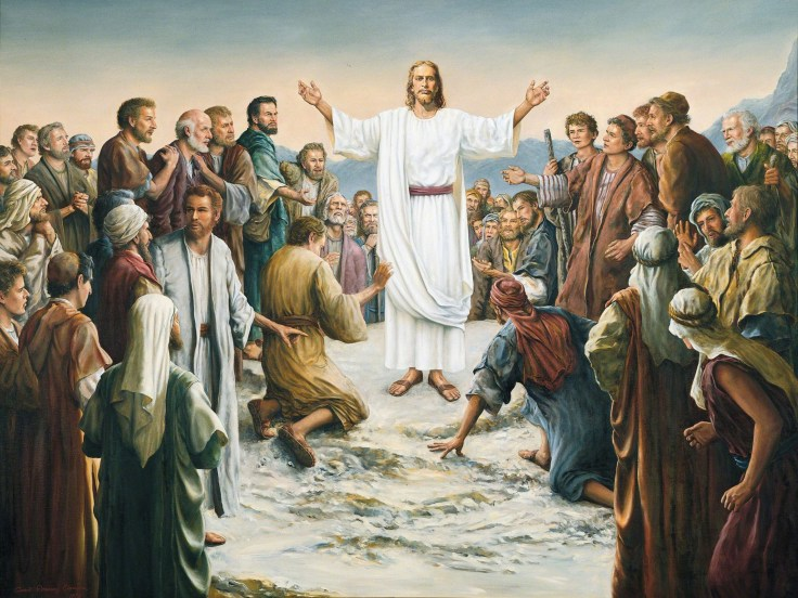 christ-resurrected-appears-multitude-clawson-37737-wallpaper
